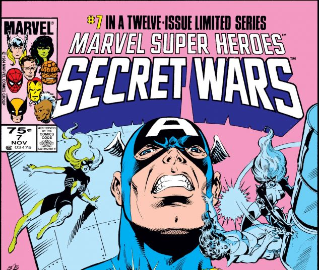 Secret Wars (1984) #7