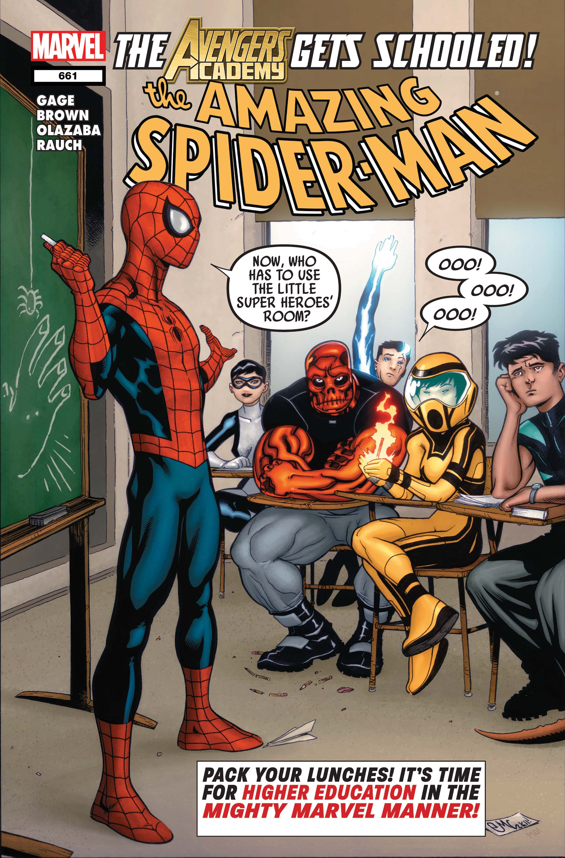 Amazing Spider-Man (1999) #661