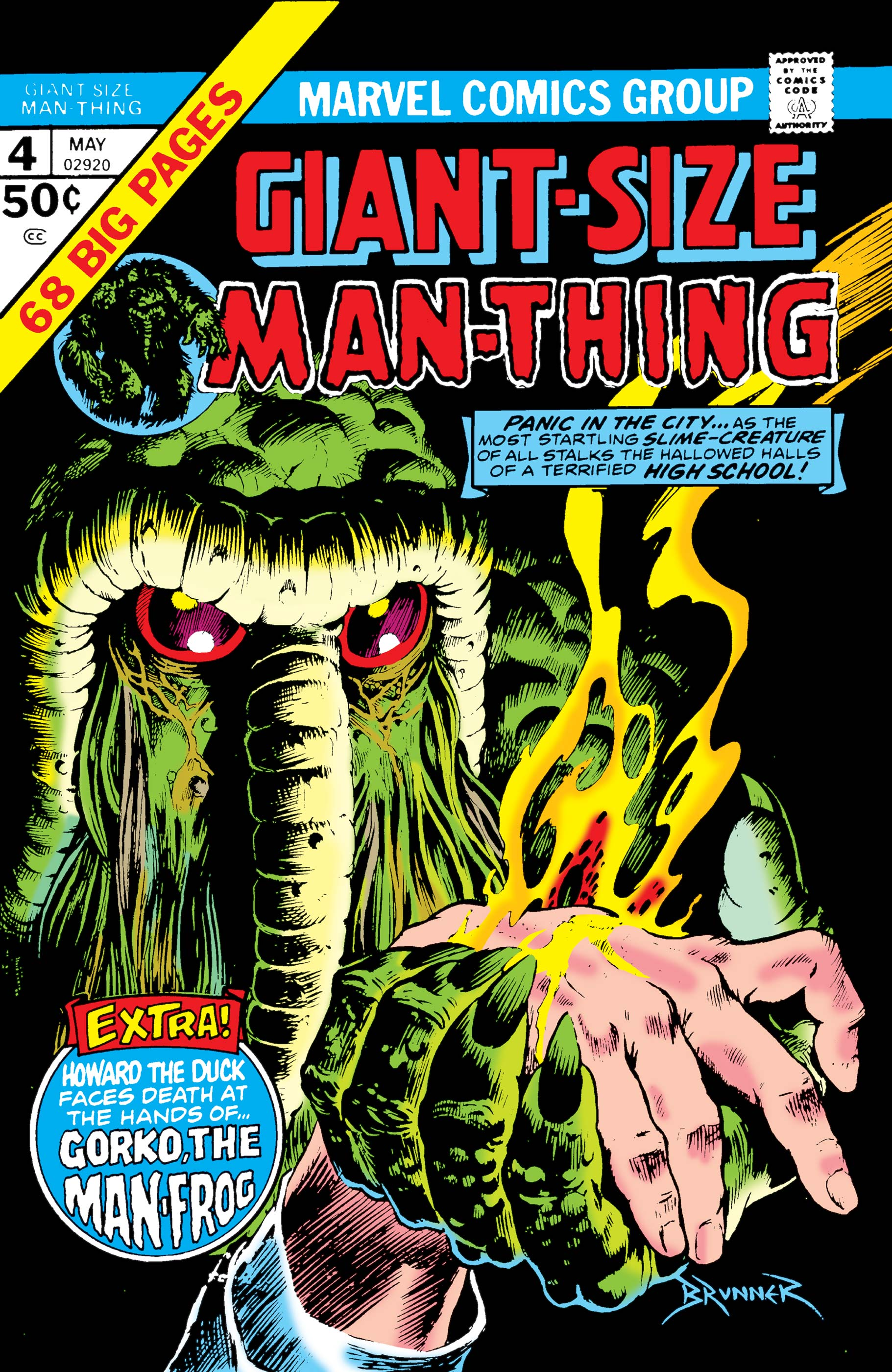 Giant-Size Man-Thing (1974) #4
