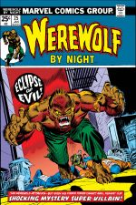Werewolf By Night (1972) #25 cover