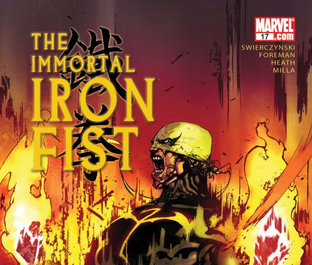 THE IMMORTAL IRON FIST (2006) #16