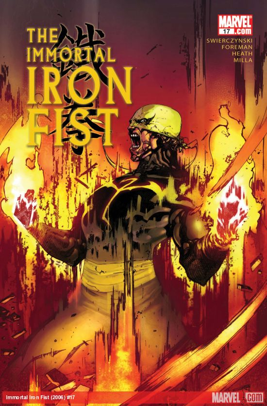 The Immortal Iron Fist (2006) #17