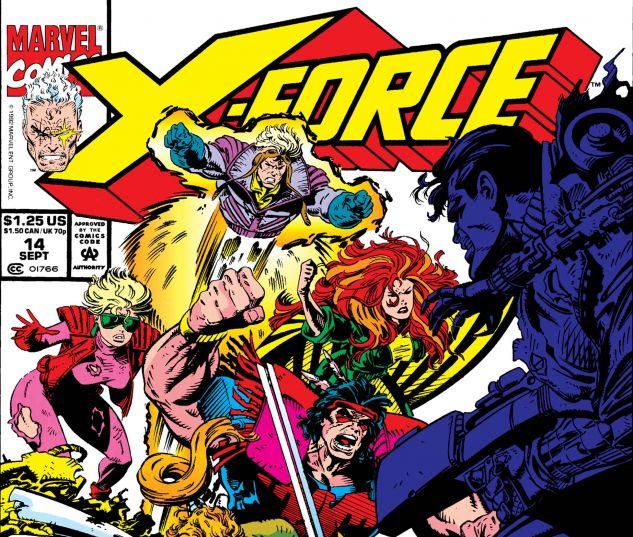 X-Force (1991) #14
