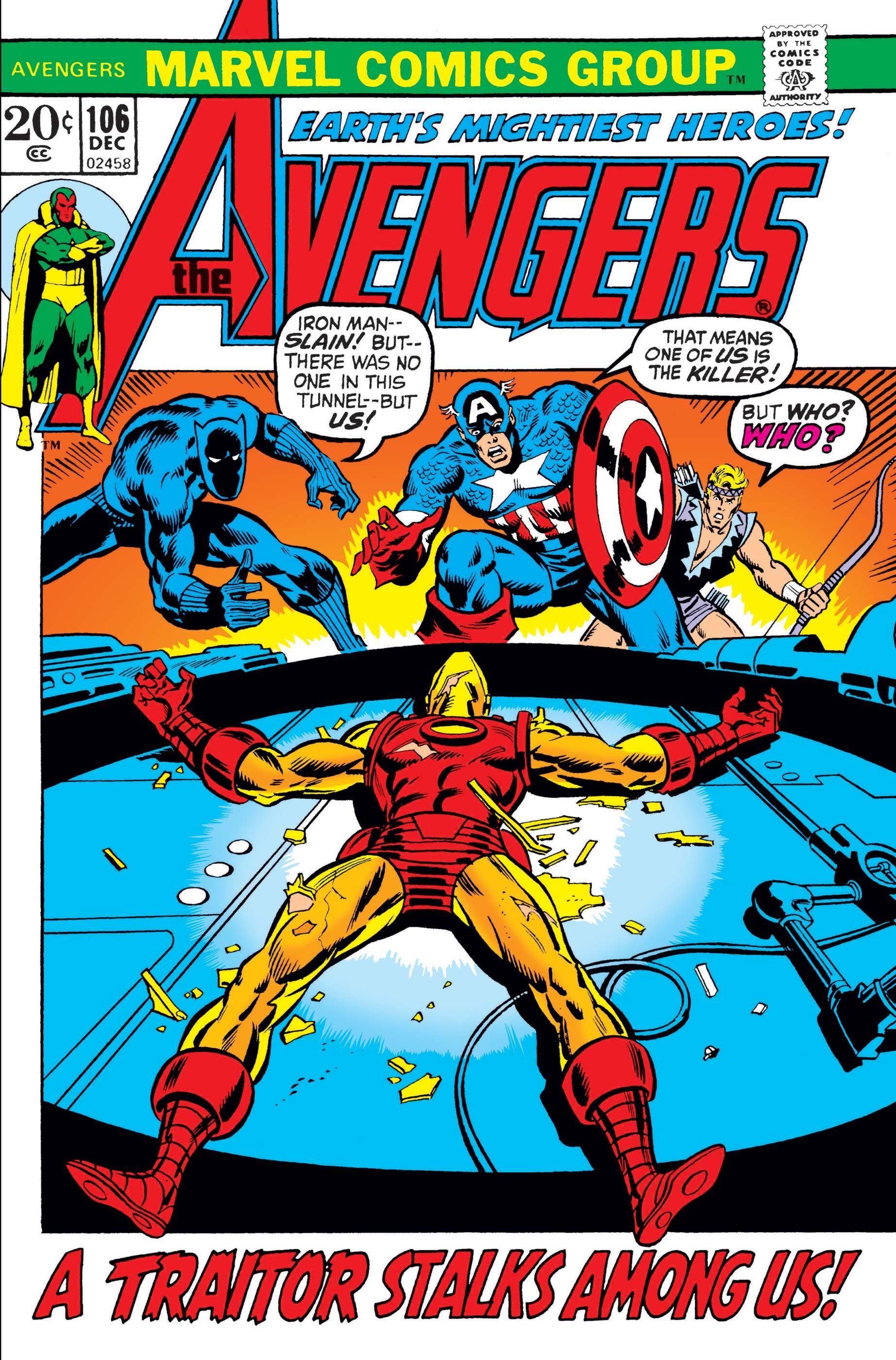 Avengers (1963) #106