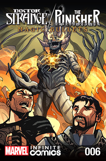 Doctor Strange/Punisher: Magic Bullets Infinite Comic (2016) #6