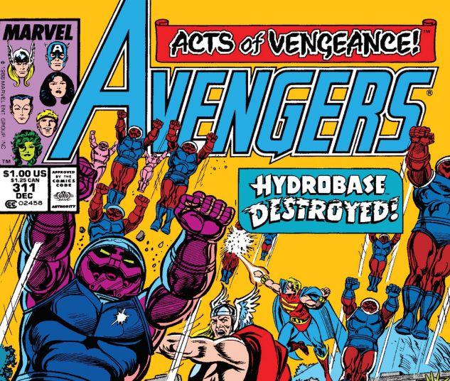 AVENGERS (1963) #311