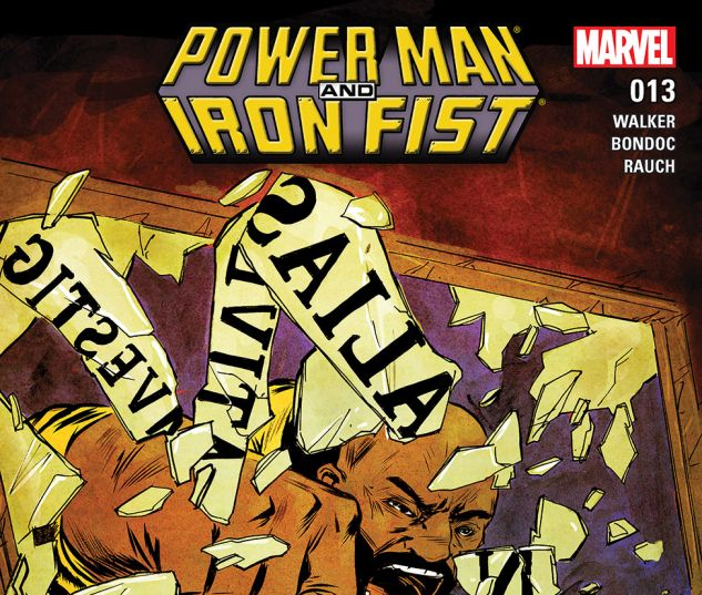 Power man and iron fist 2016 13 comics for Powers bureau issue 13