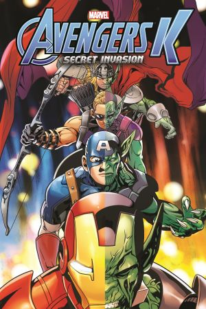 Avengers K Book 4: Secret Invasion (Trade Paperback)