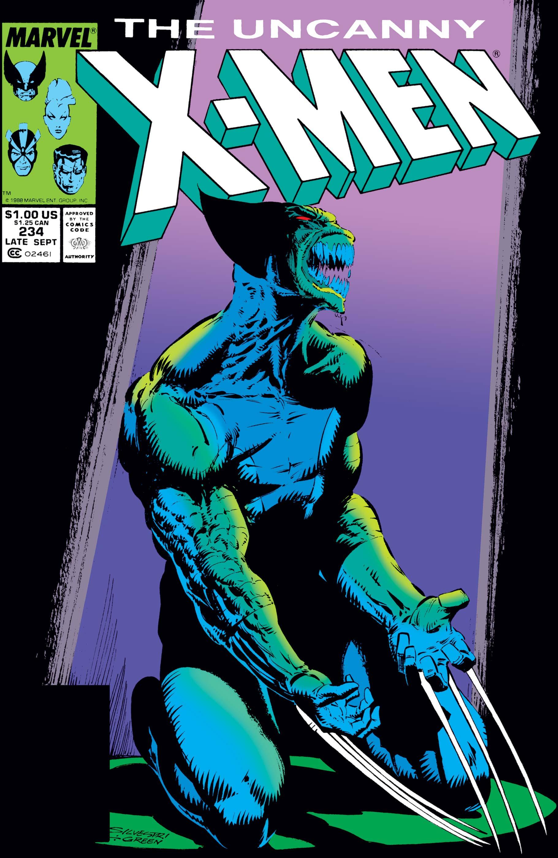 Uncanny X-Men (1963) #234