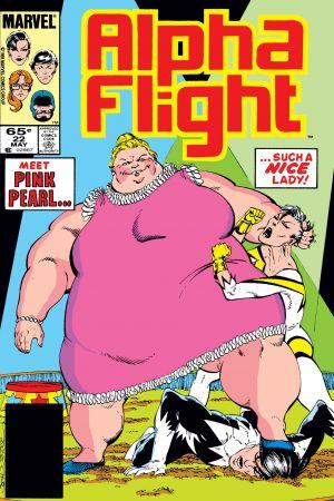 Alpha Flight (1983) #22