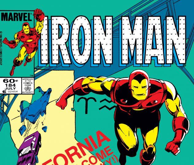 IRON MAN (1968) #184
