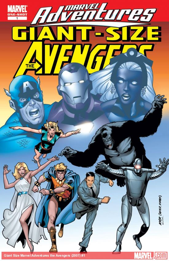 Giant Size Marvel Adventures the Avengers (2007) #1