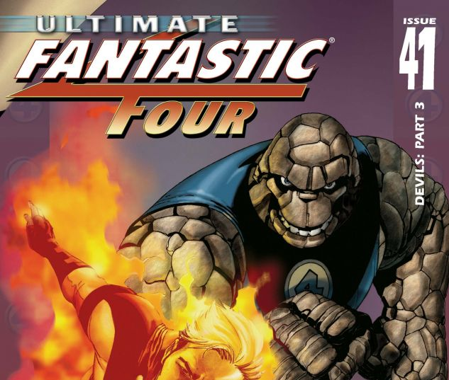 ULTIMATE FANTASTIC FOUR (2003) #41