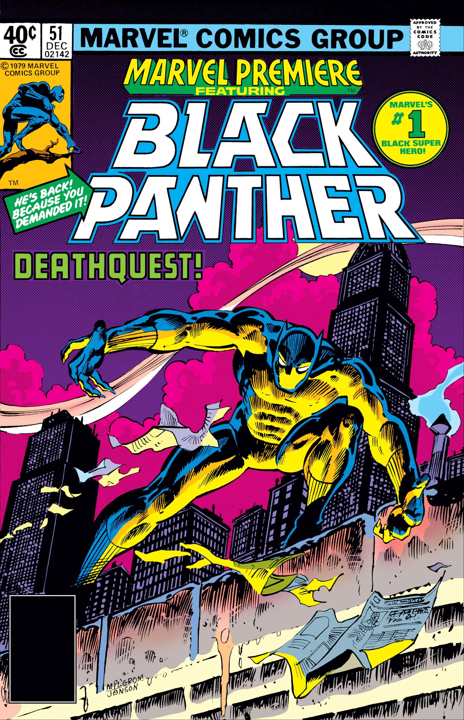 Marvel Premiere (1972) #51