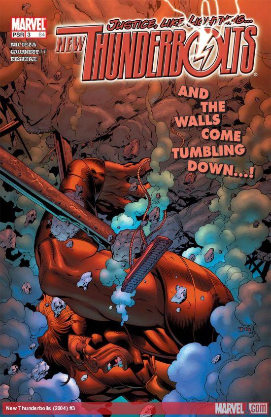 New Thunderbolts (2004) #3