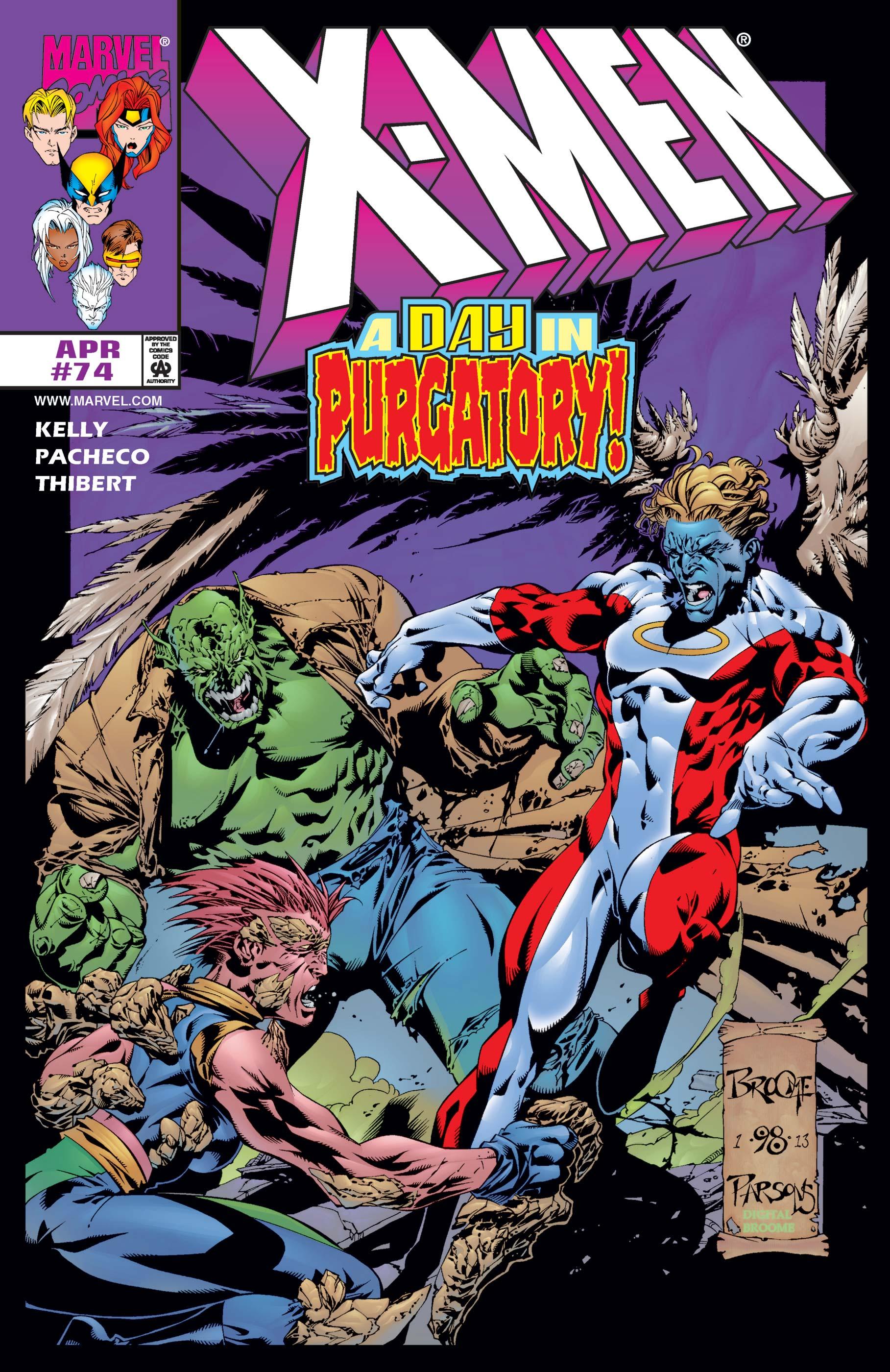 X-Men (1991) #74