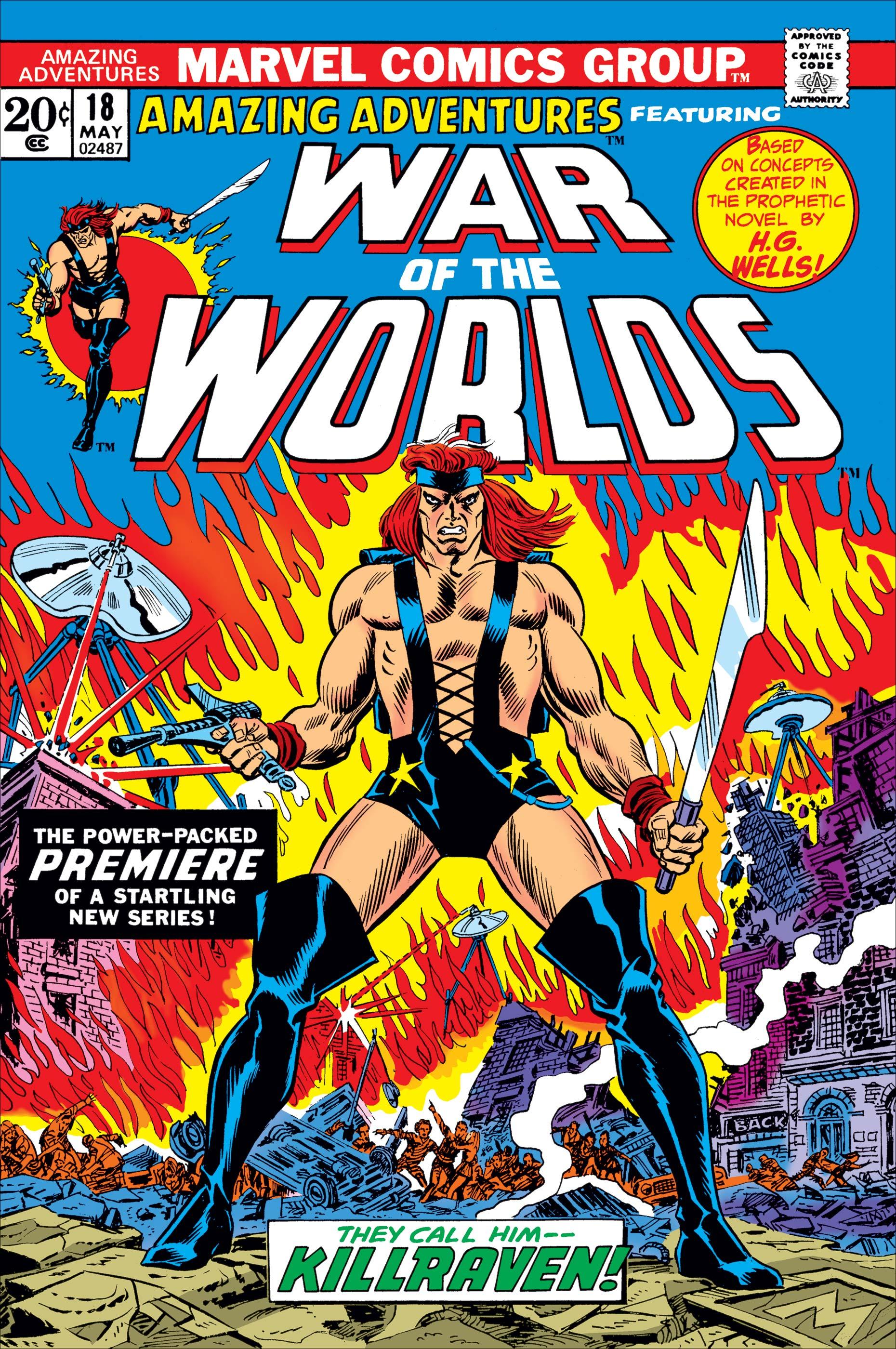 Amazing Adventures (1970) #18