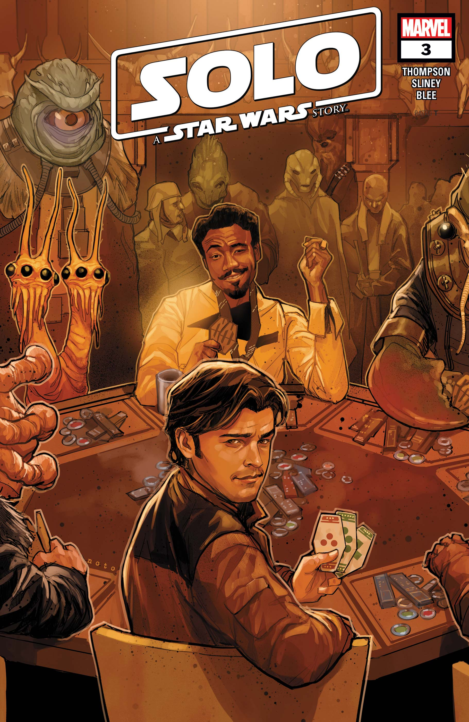 Solo: A Star Wars Story Adaptation (2018) #3