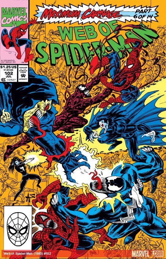 Web of Spider-Man (1985) #102