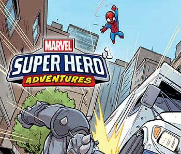 cover from Marvel Super Hero Adventures: Spider-Man - Web of Intrigue Infinite Comic (2019)