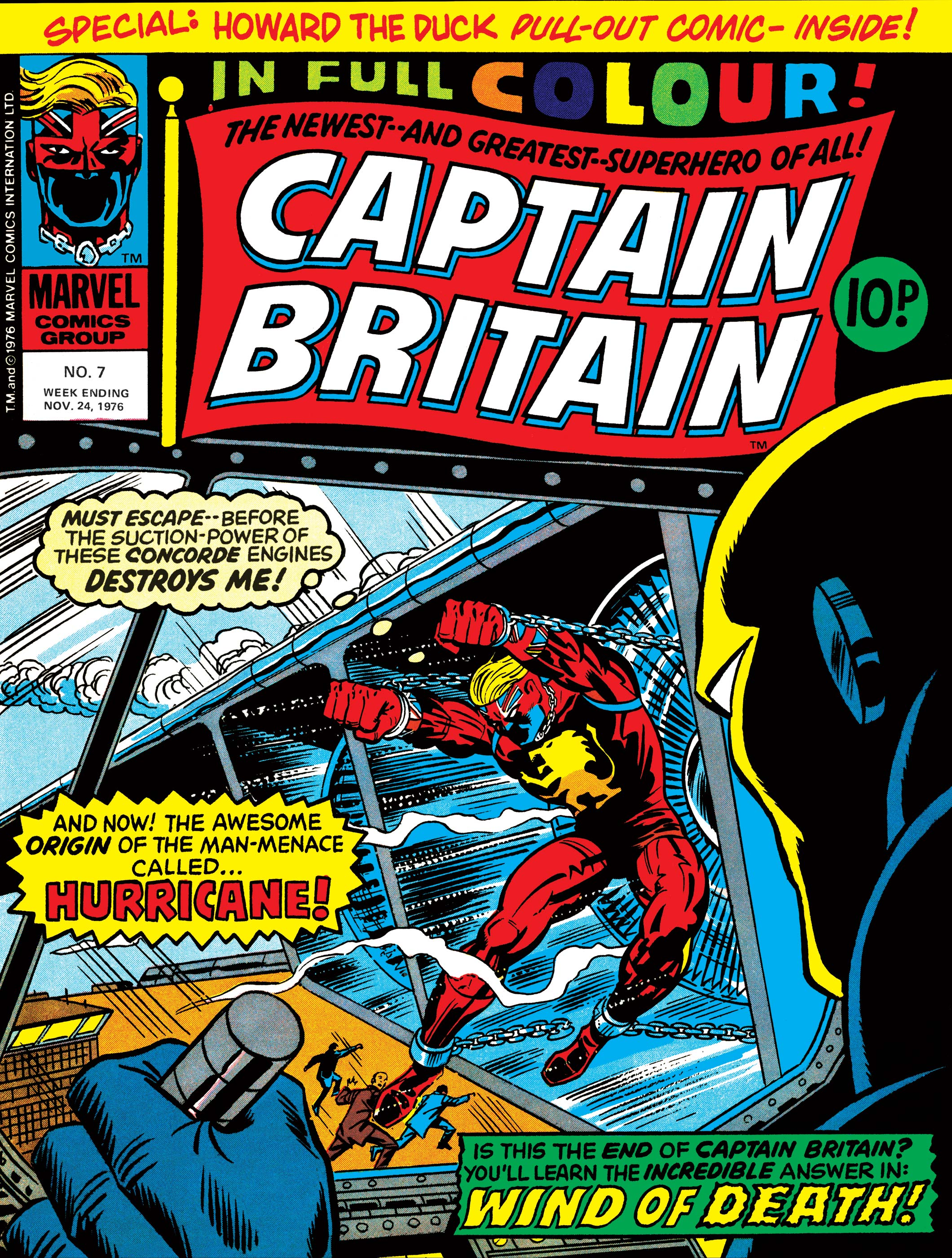 Captain Britain (1976) #7