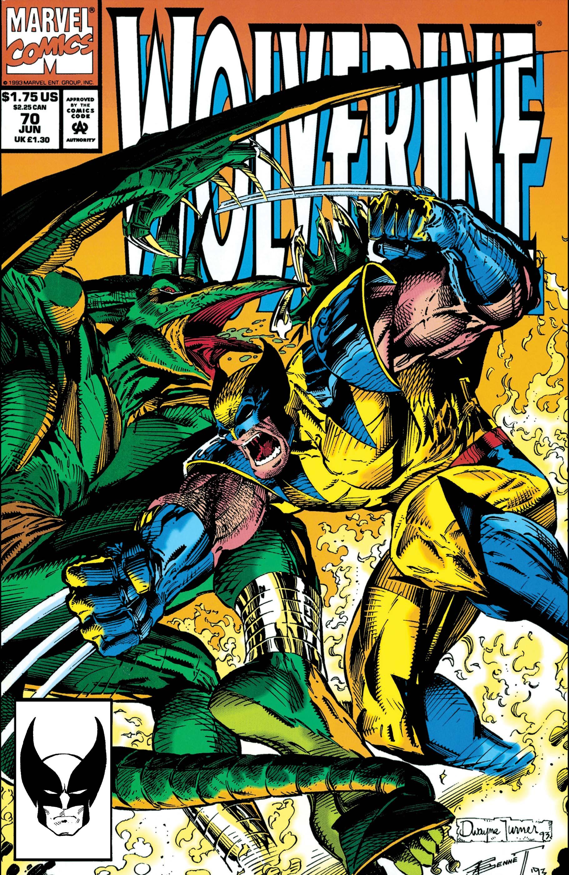 Wolverine (1988) #70