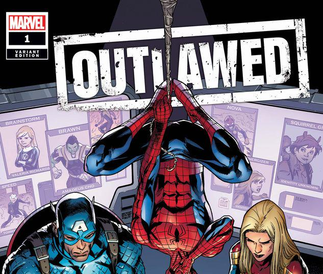 OUTLAWED 1 YOUNG VARIANT #1