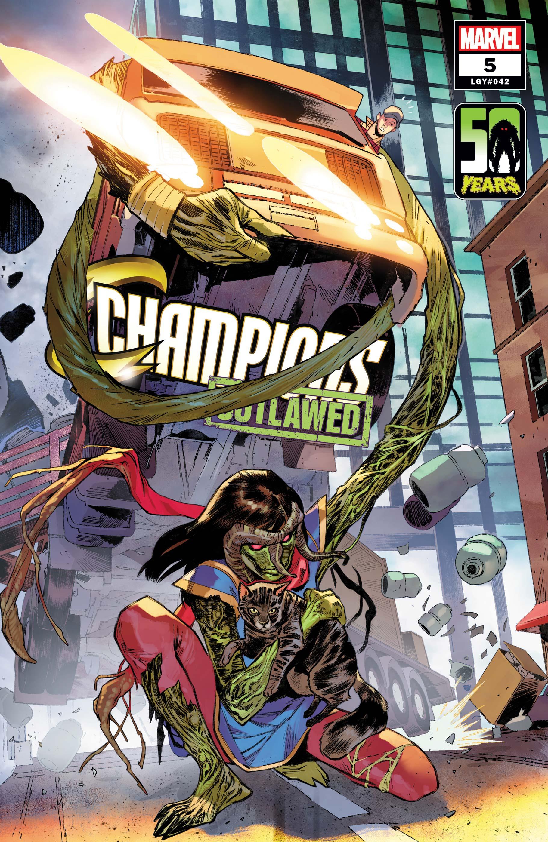 Champions (2020) #5 (Variant)
