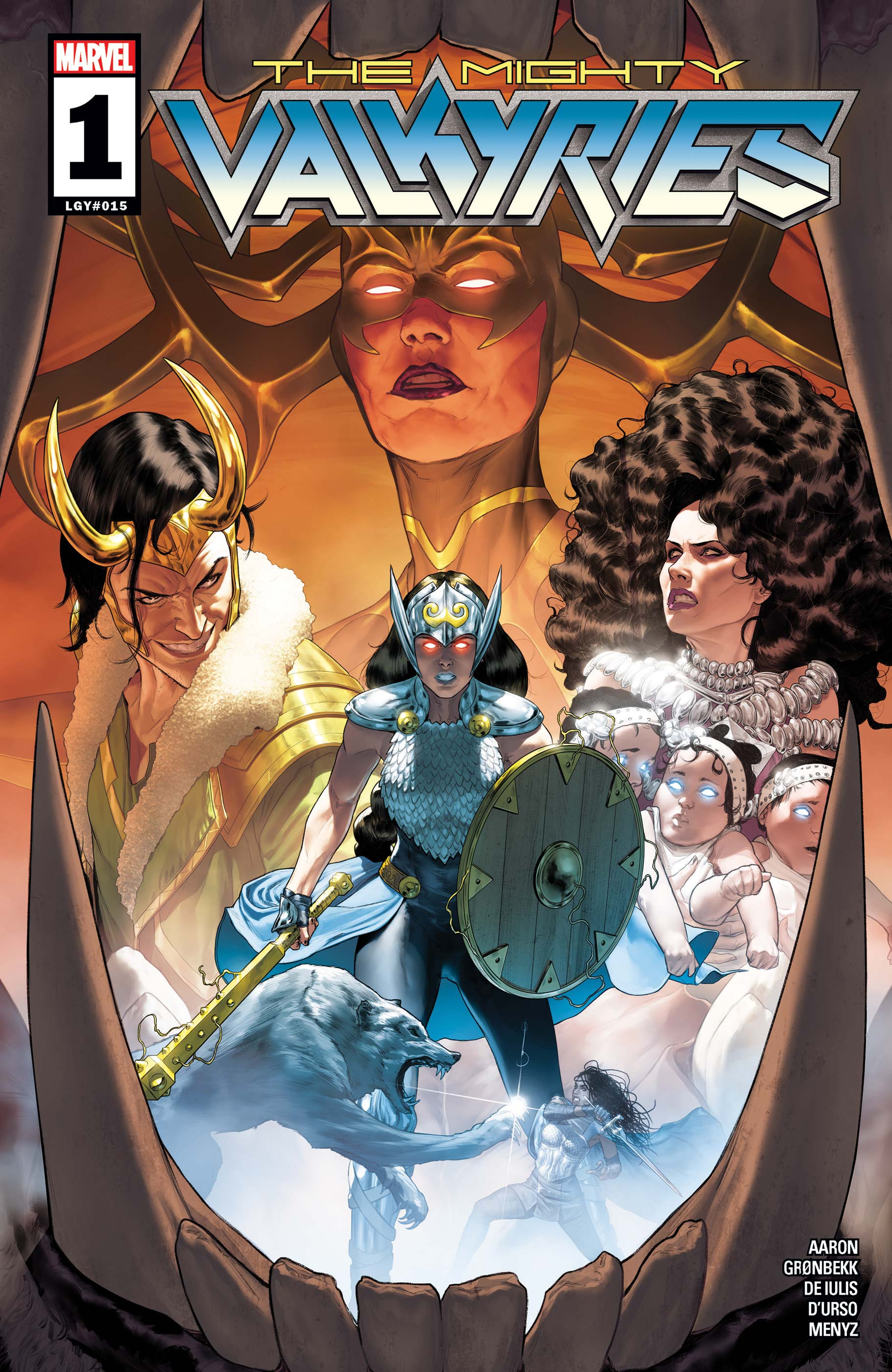 The Mighty Valkyries (2021) #1
