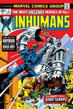Inhumans (1975) #2 cover