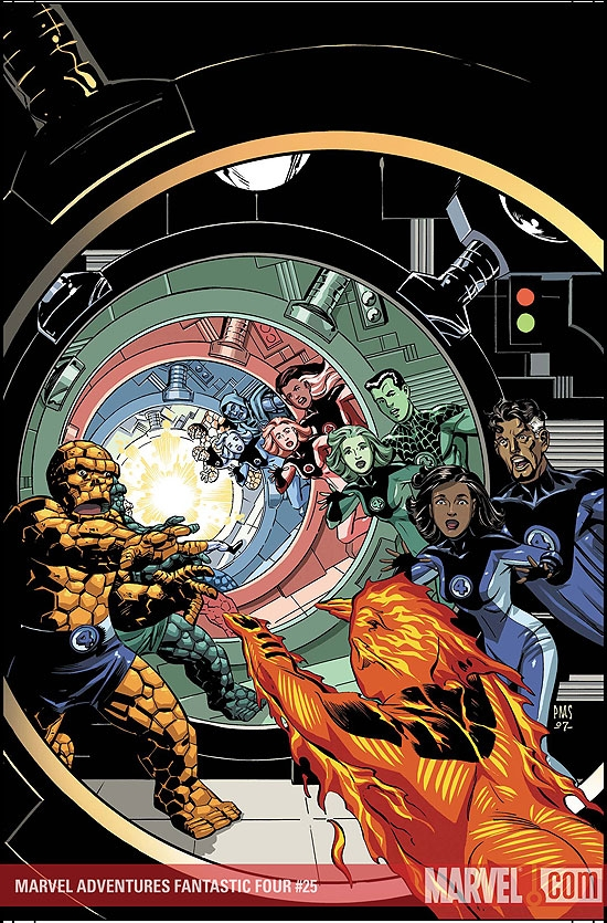 Marvel Adventures Two-in-One (2007) #3