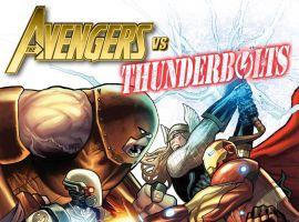 Avengers vs Thunderbolts by Greg Land
