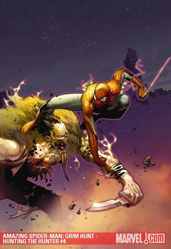 Amazing Spider-Man: Grim Hunt - Hunting the Hunter Digital Comic (2010) #4