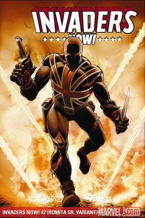 Invaders Now! (2010) #2 (ROMITA SR. VARIANT)