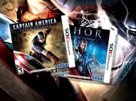 Thor & Captain America Coming to Nintendo 3DS