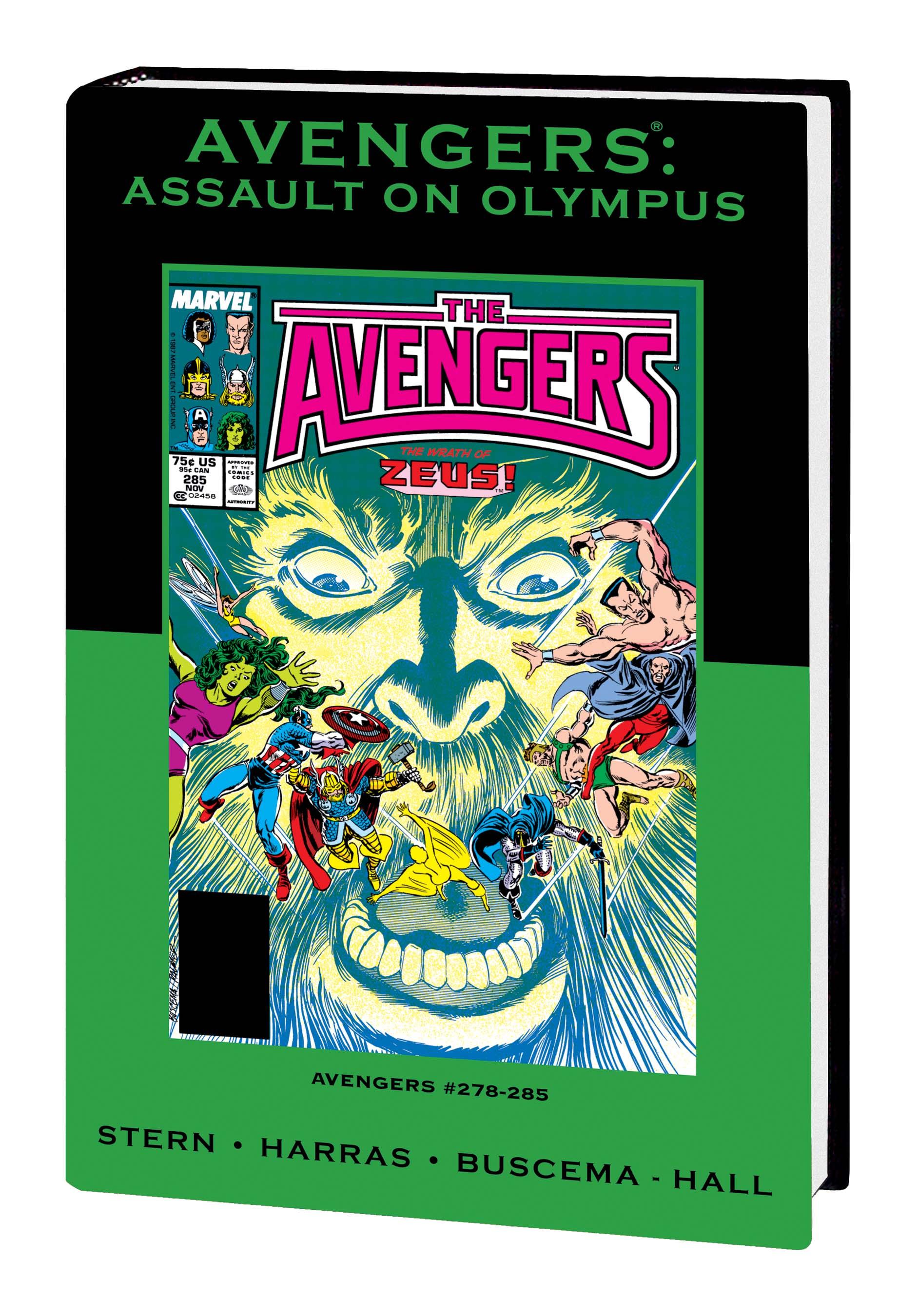 Avengers: Assault on Olympus (Hardcover)
