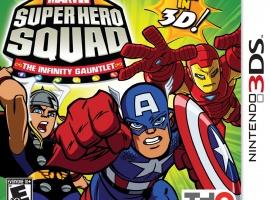 Marvel Super Hero Squad: The Infinity Gauntlet Nintendo 3DS box art