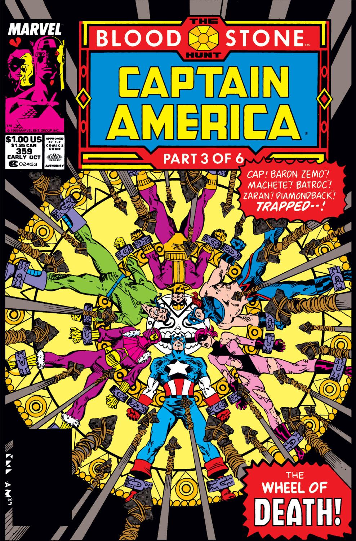 Captain America (1968) #359