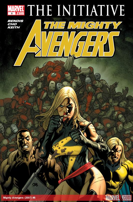 The Mighty Avengers (2007) #6