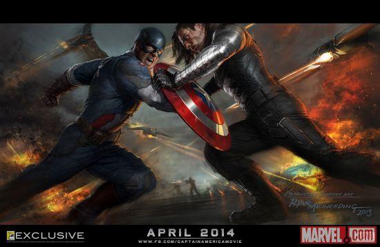 Captain America: The Winter Soldier concept art by Ryan Meinerding