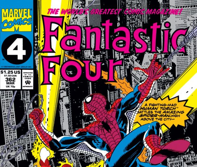 Fantastic Four (1961) #362 Cover