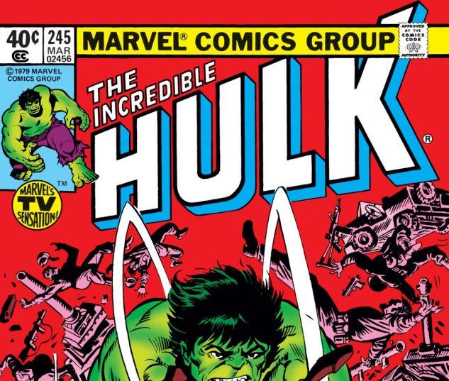 Incredible Hulk (1962) #245 Cover