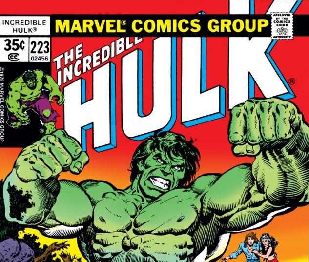 Incredible Hulk (1962) #223 Cover