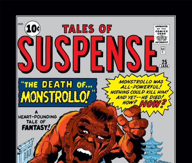 Tales of Suspense (1959) #25 Cover