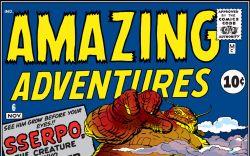 Amazing Adventures (1961) #6 Cover