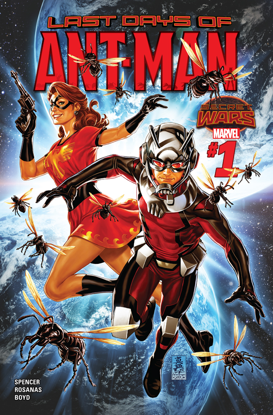 Ant-Man: Last Days (2015) #1