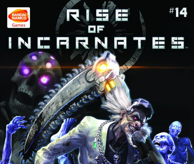 cover Rise of Incarnates #14