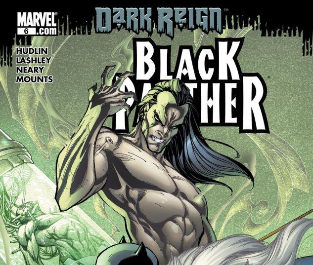 Black Panther (2008) #6