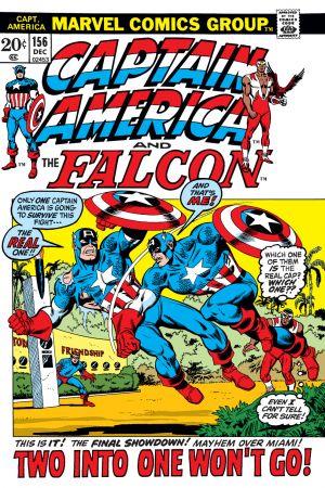 Captain America (1968) #156