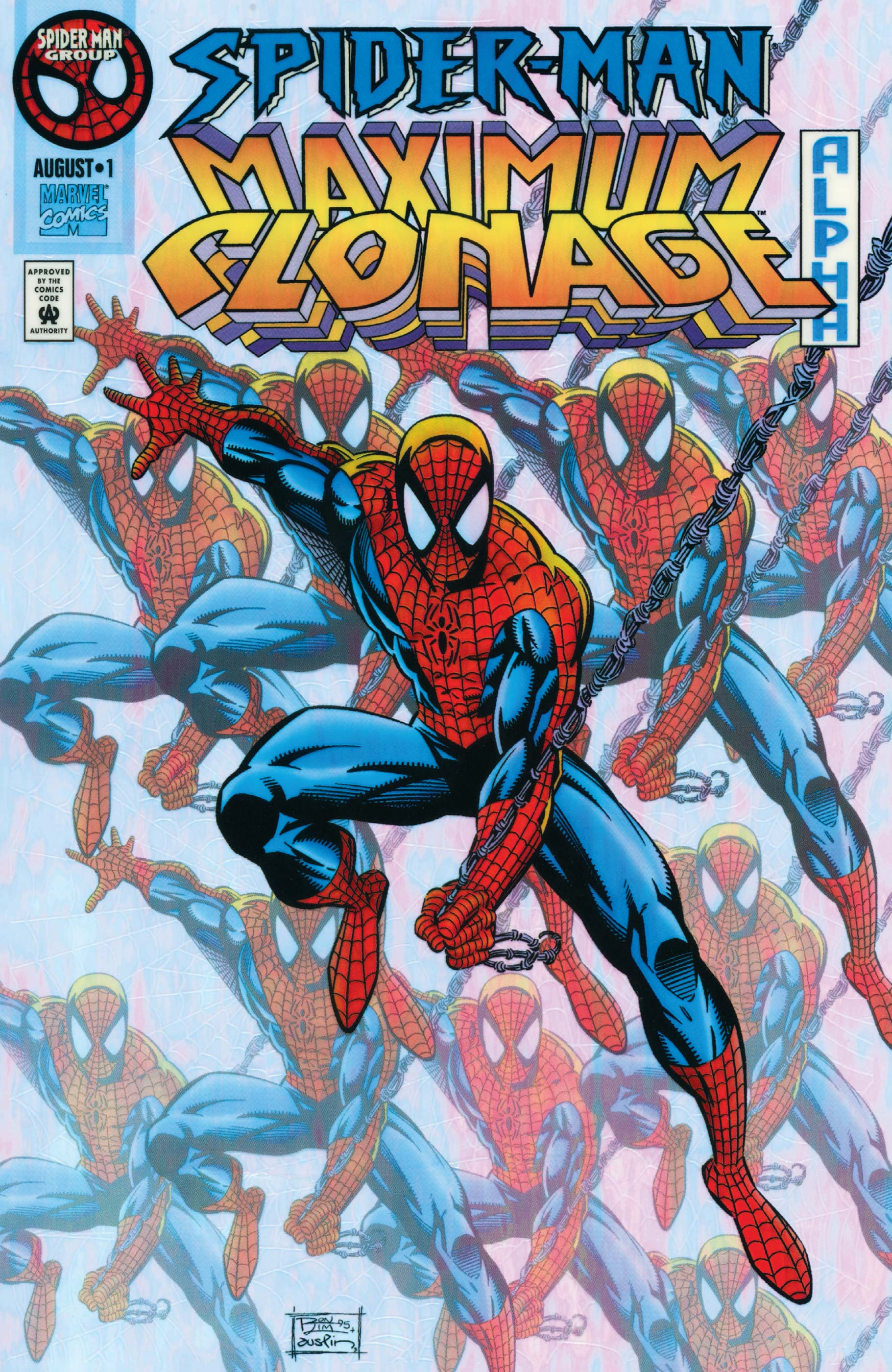 Spider-Man: Maximum Clonage Alpha (1995) #1
